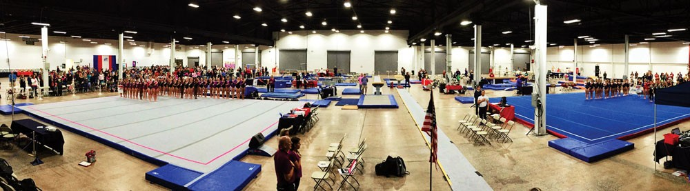 Gymnastics Meet photo