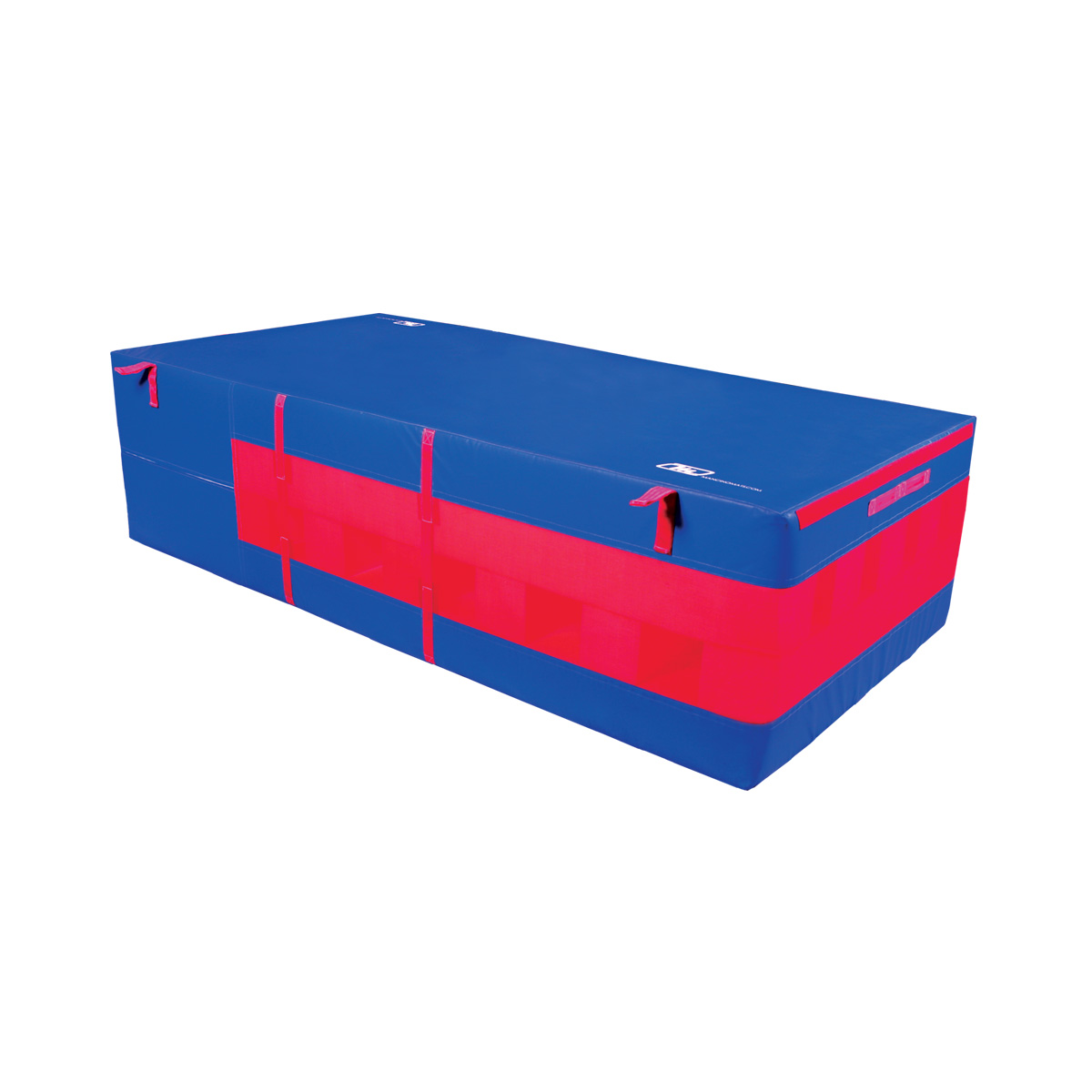 """24"""" safety resi pit royal blue with red breather mesh"""