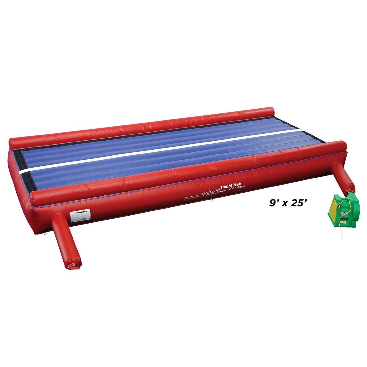 red air trak for cheer tumbling training | mancino mats