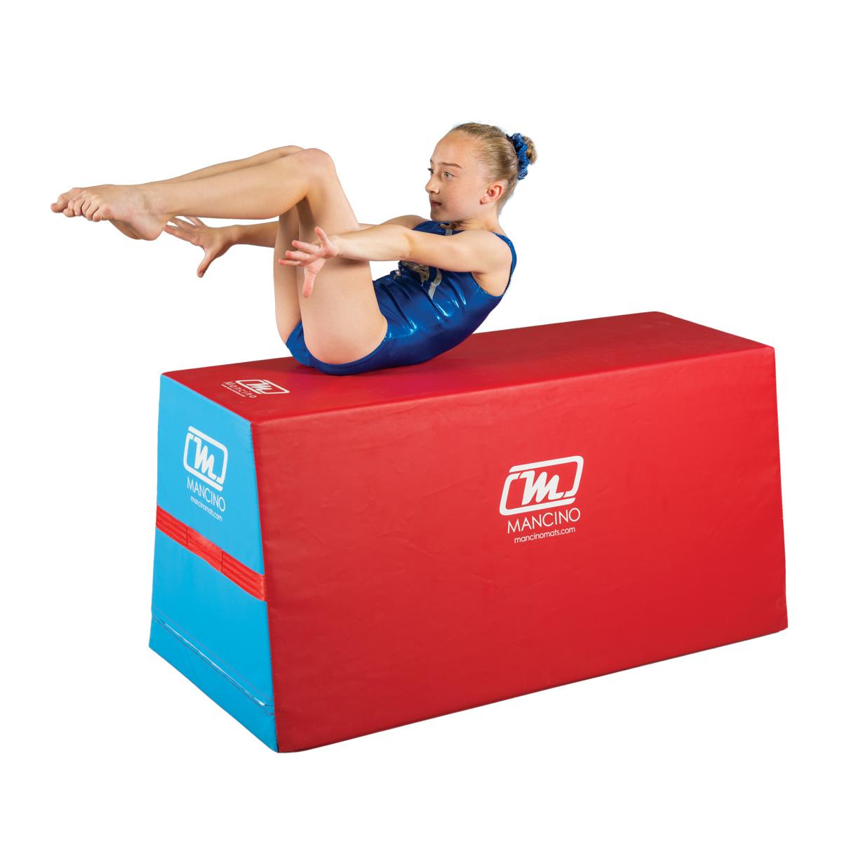 gymnast on mancino unizoid skill builder trainer