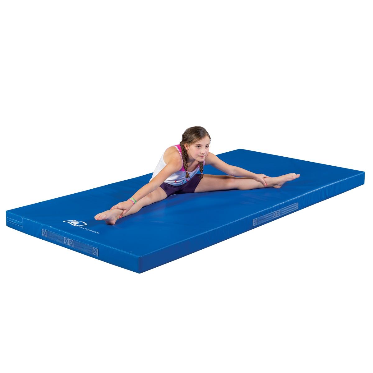 PE blue mat