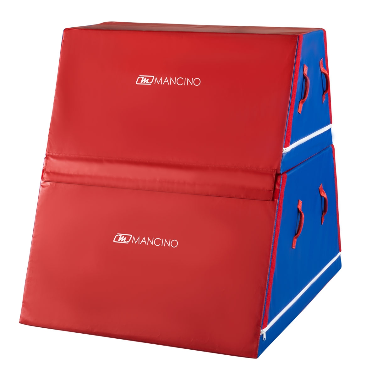 trapezoid trainer red and blue   mancino mats