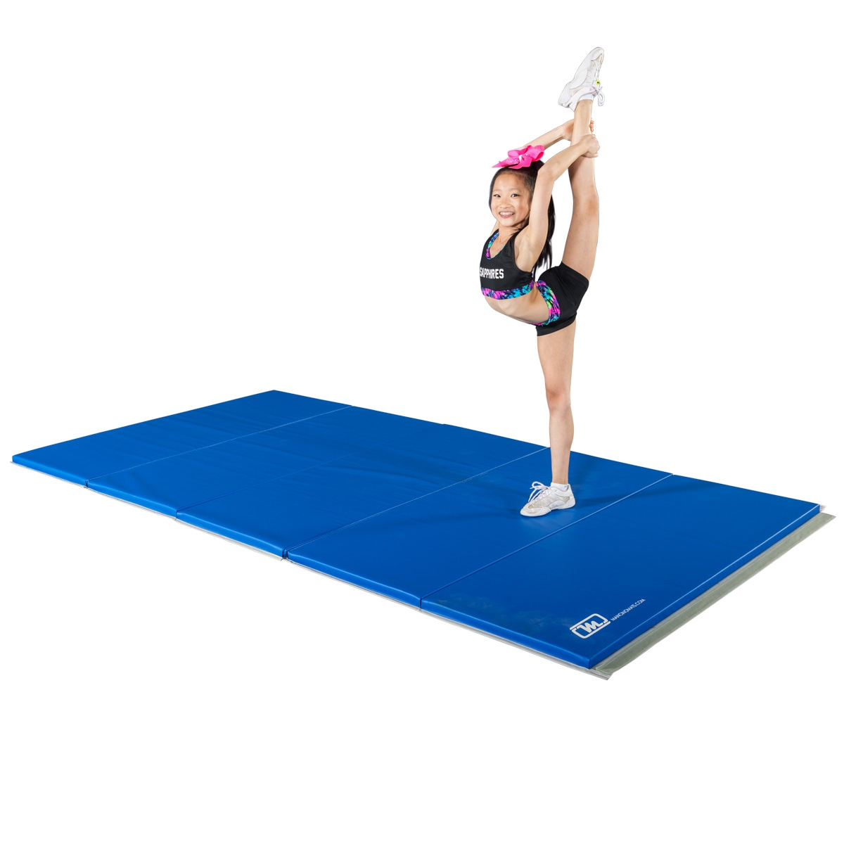 royal blue cheer folding mat