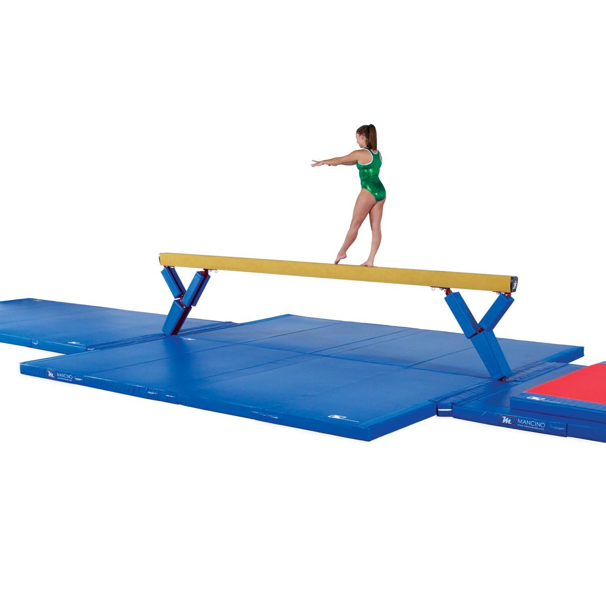 12cm folding Competition landing mats gymnastics landing mat