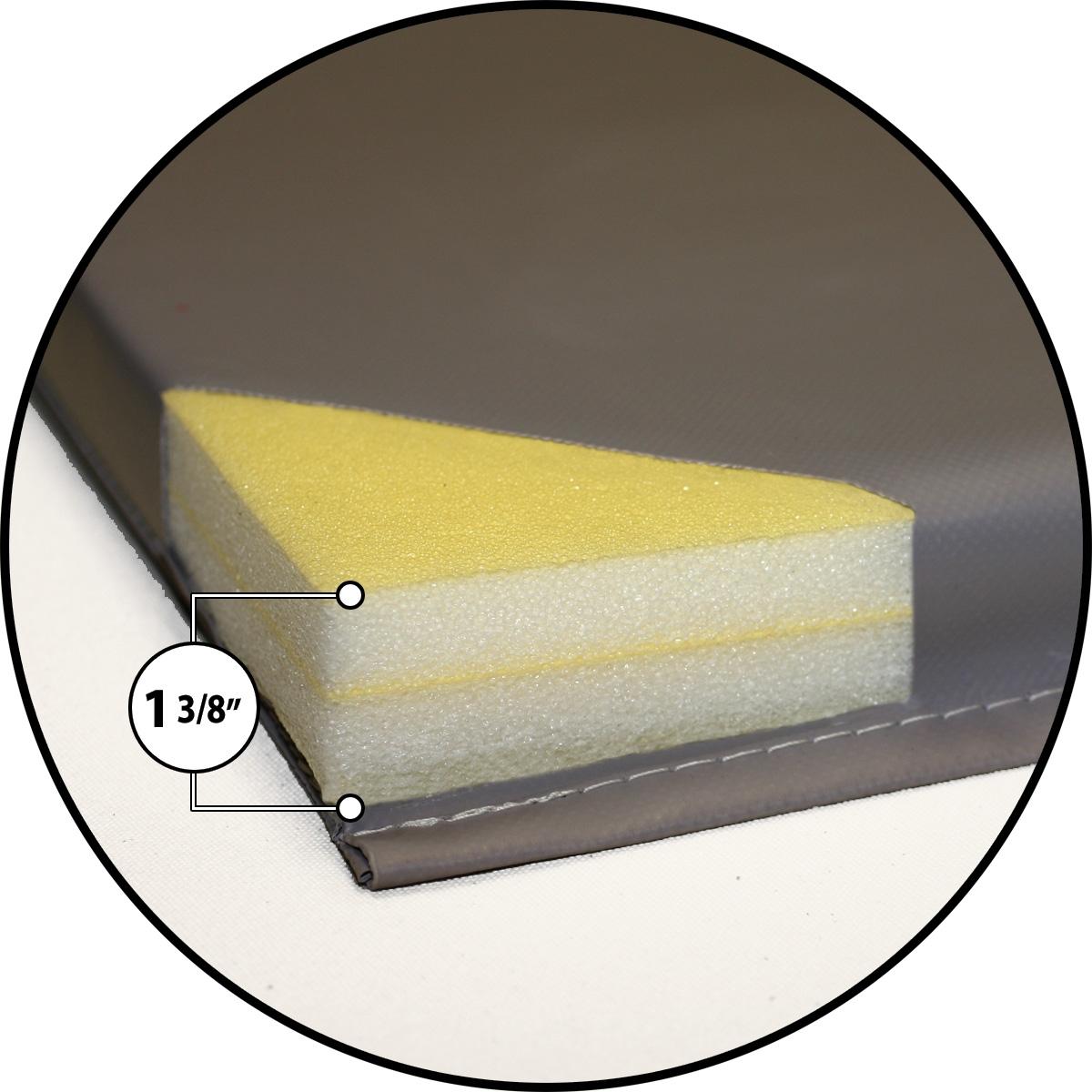 gym mat foam construction