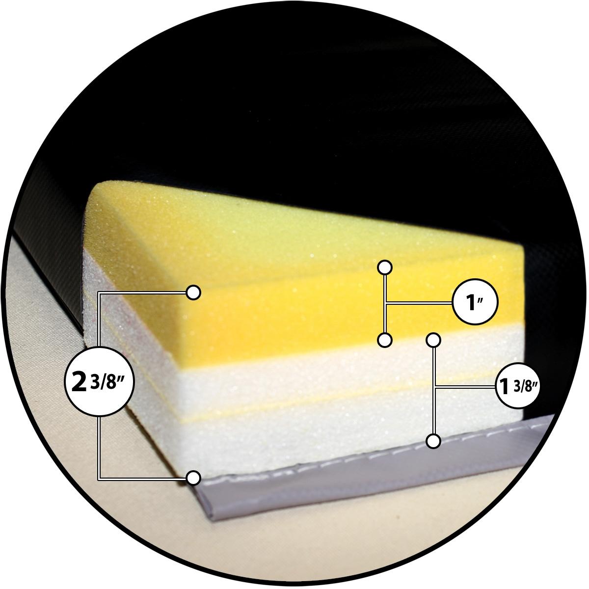 mancino mats - foam thickness for combo educator folding mat