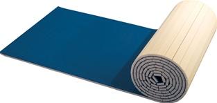 carpeted foam floor system roll