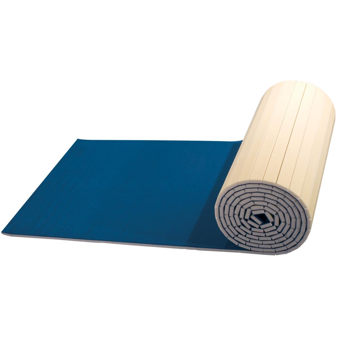 carpeted foam roll for cheer floors - mancino mats