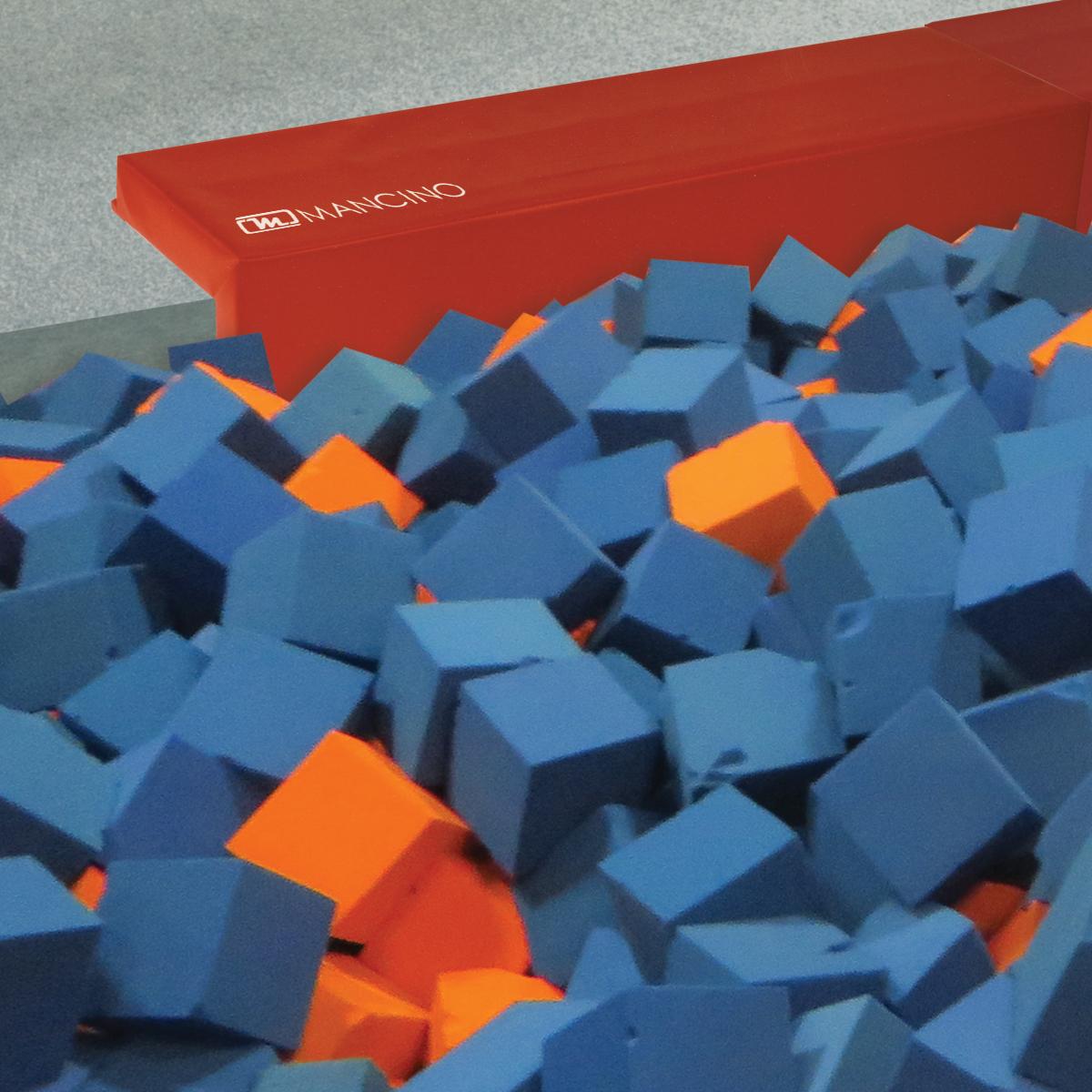 safety foam pit edge padding - mancino mats