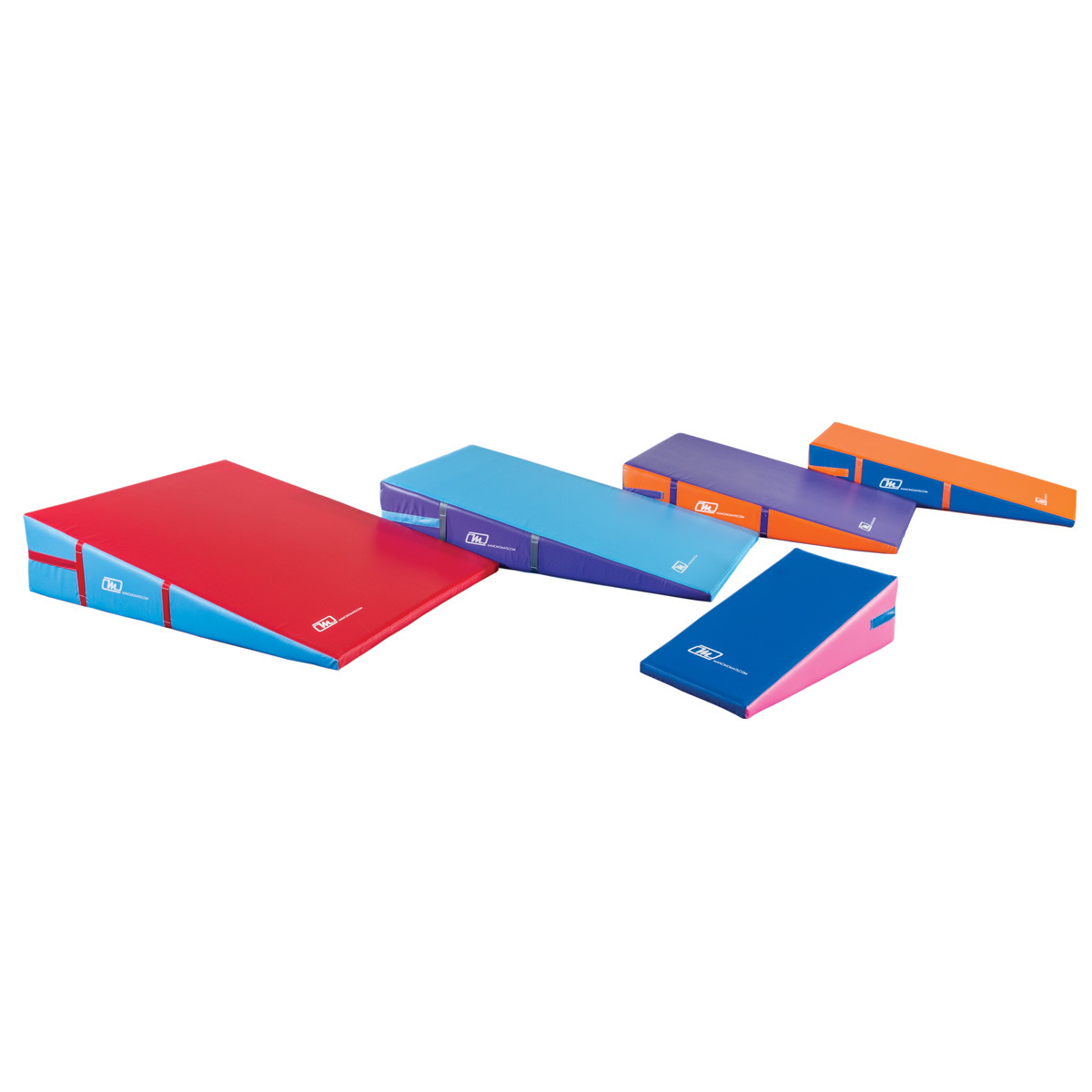 gymnastics cheer incline wedge cheese mats - Mancino Mats