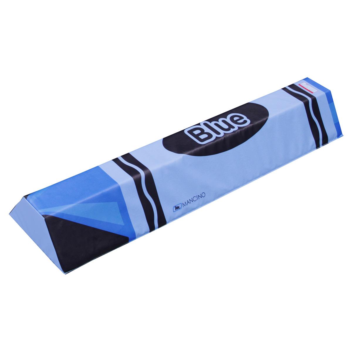 blue foam crayon training shape - mancino mats