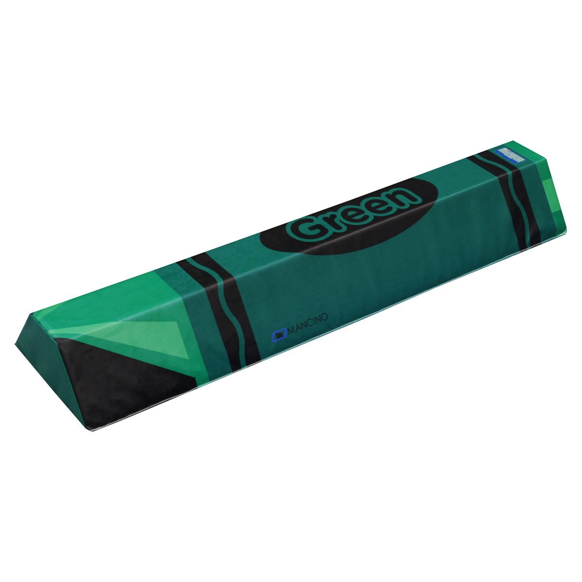 long green crayon climbing mat - mancino mats