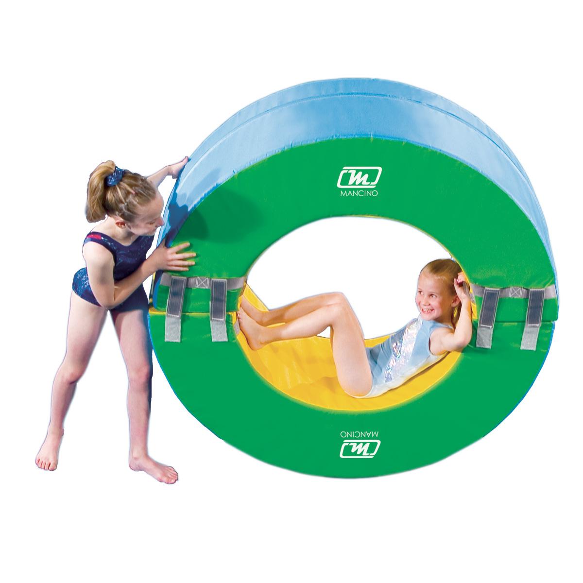full circle gymnastics mat