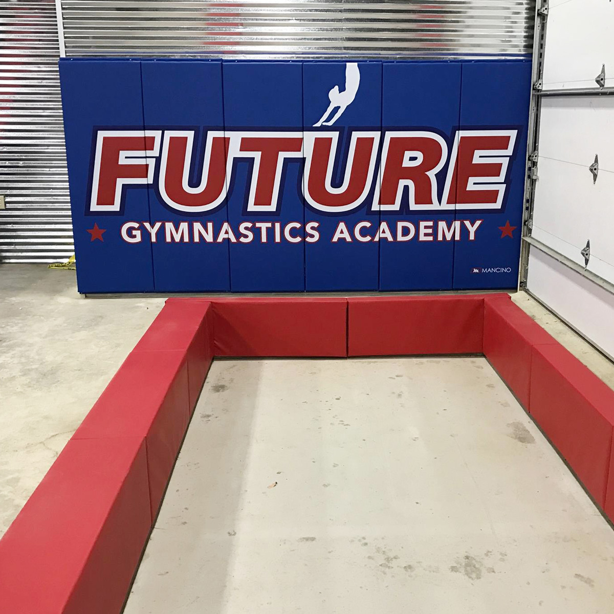 pit edge padding future gymnastics academy inground