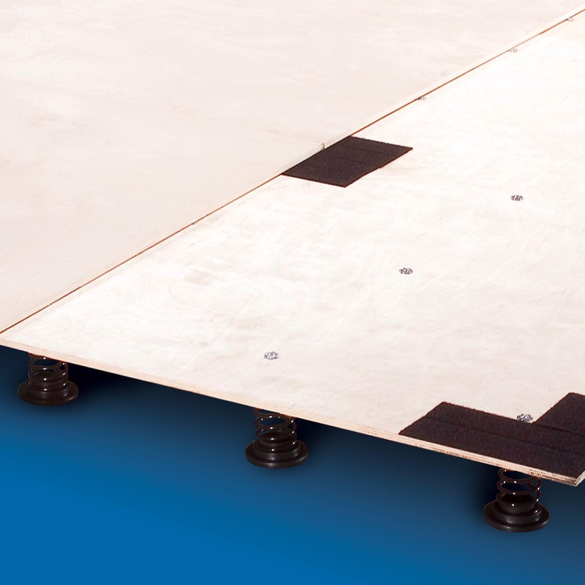 spring floor deck | gymnastics cheer | mancino mats