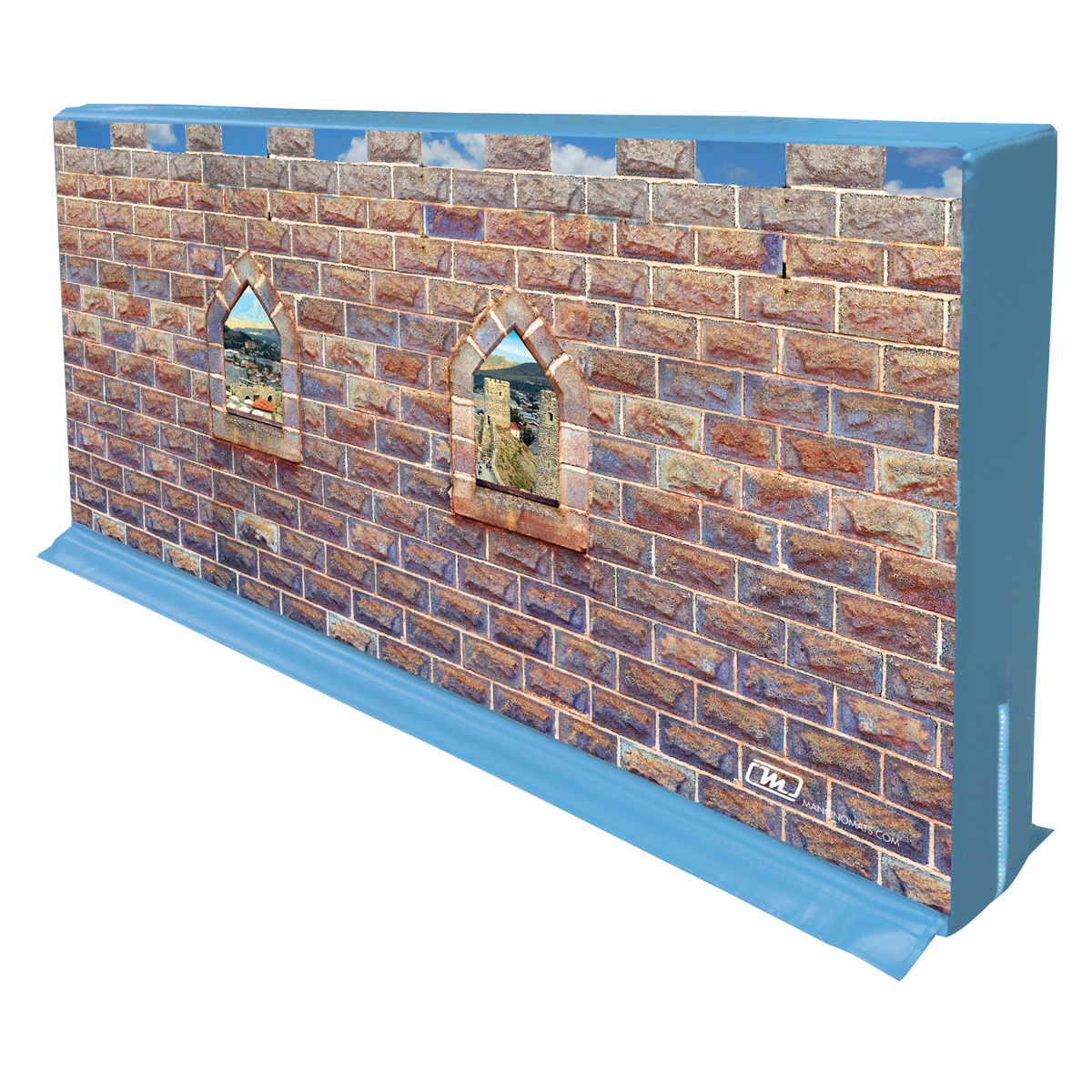 mancino mats kingdom castle hedge wall for gyms