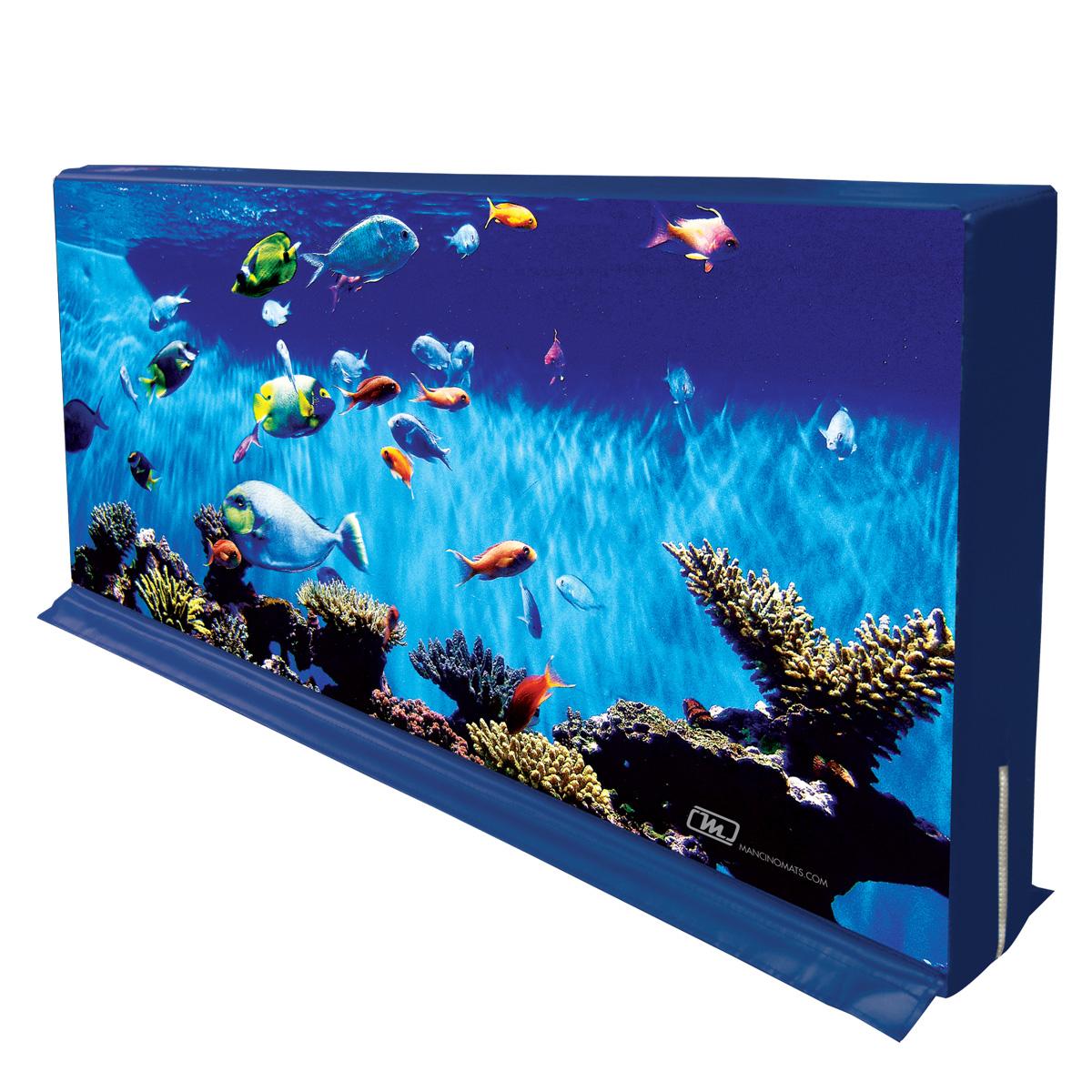 underwater aquarium ocean hedge mat barrier