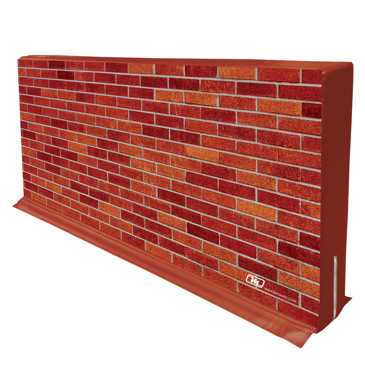 brick wall hedge divider partition for creating separate areas