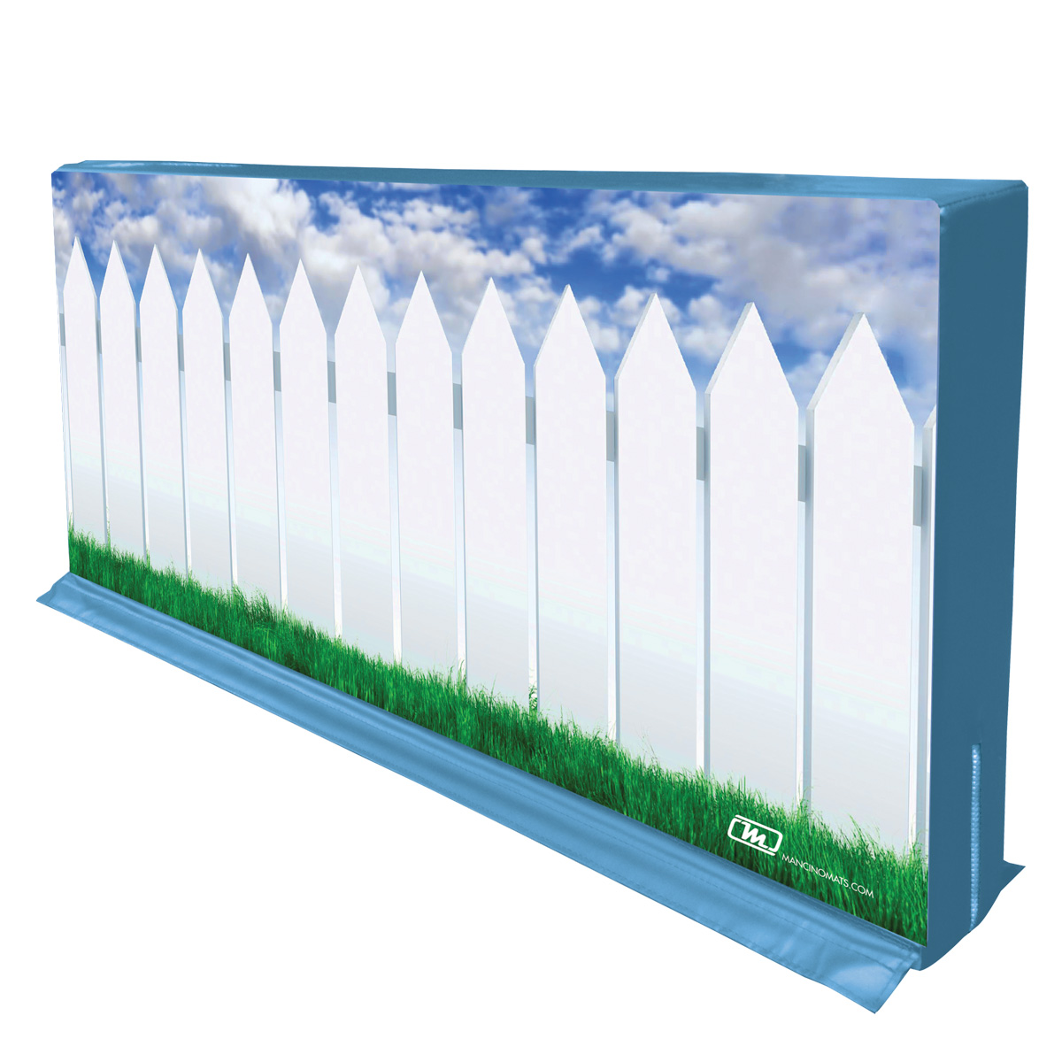 mancino mats picket fence divider partition wall for cheer gyms