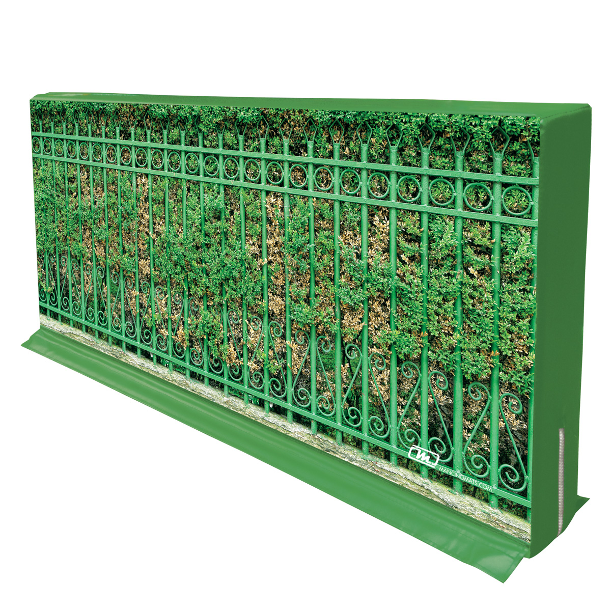 topiary fence enclosure pit wall