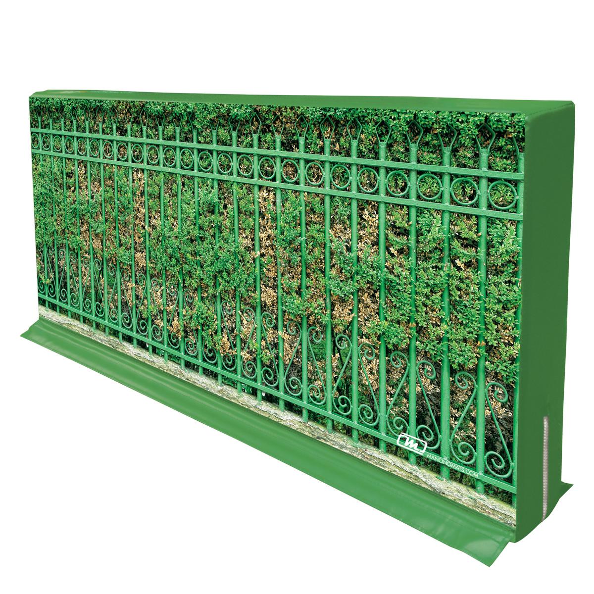 mancino mats topiary fence enclosure pit wall