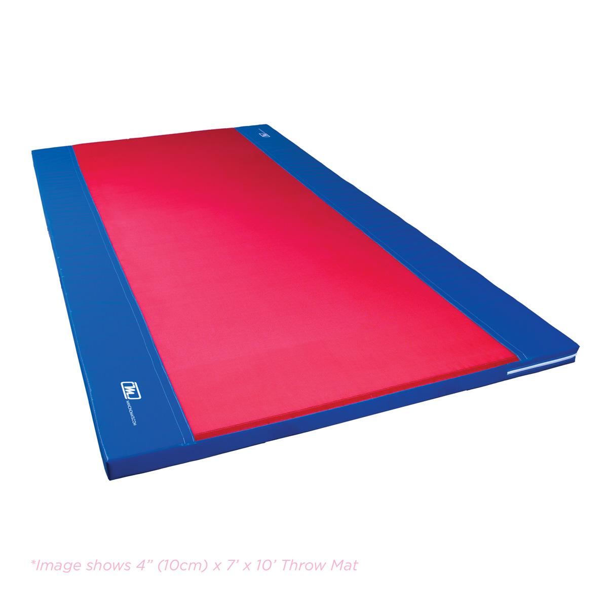 10cm mesh top throw gymnastics mat