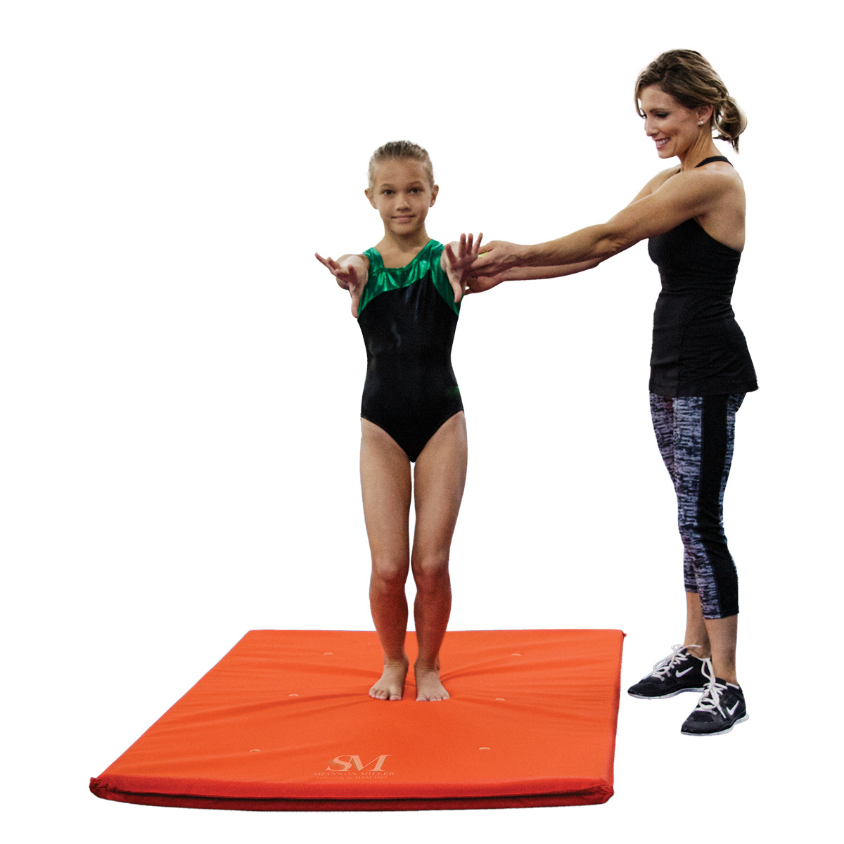 Shannon Miller Collection orange cordura Mini crash Sting Mat