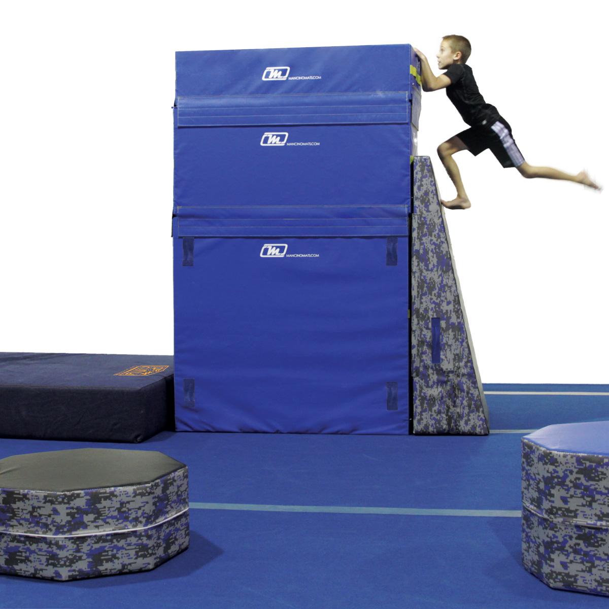 ninja warrior warped wall for gyms