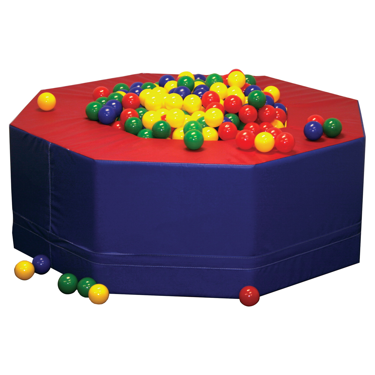 mill ball pool pit