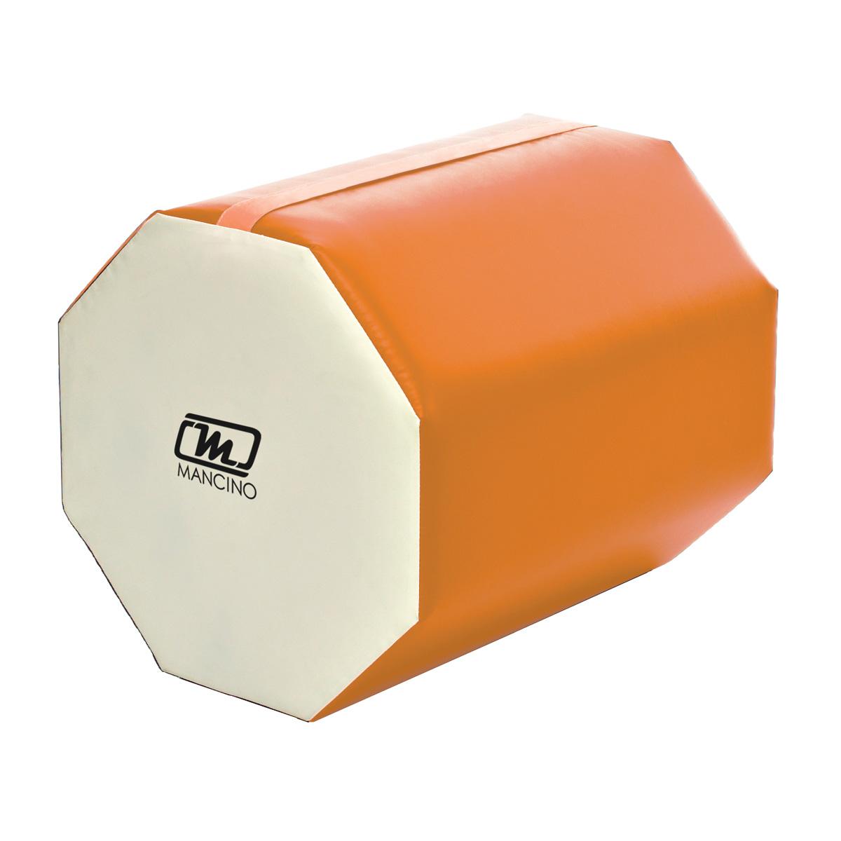 orange and white back handspring trainer