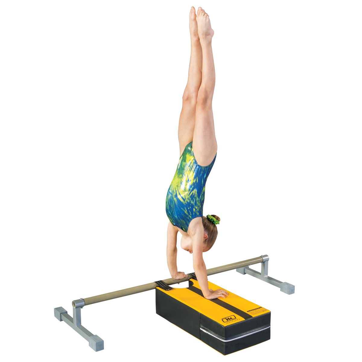 Pirouette Trainer Mat floor bar and gymnast
