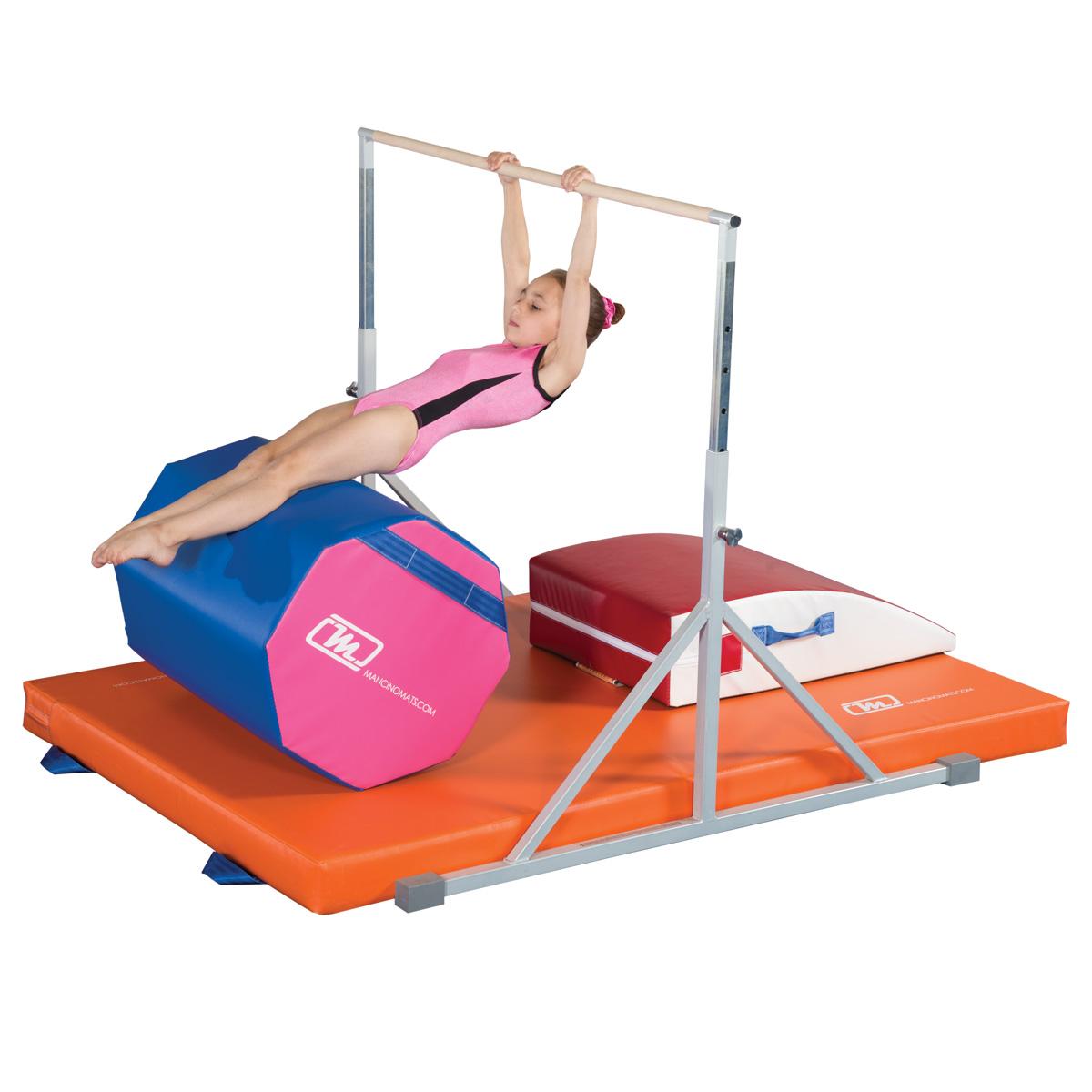 """Preschool Training Bar with 4"""" landing mat"""