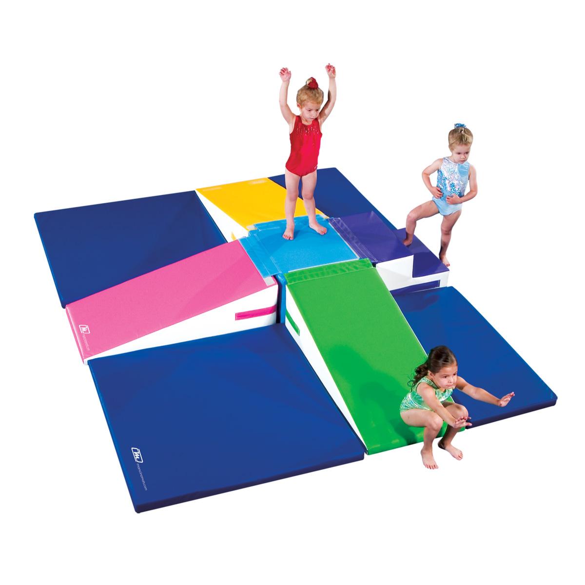 Mancino Mats tumble bear square preschoolers