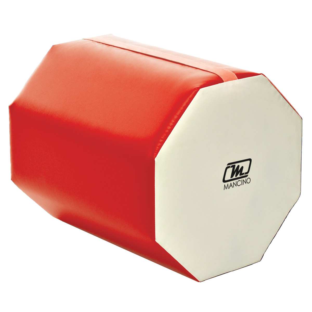 red and white octagon training shape