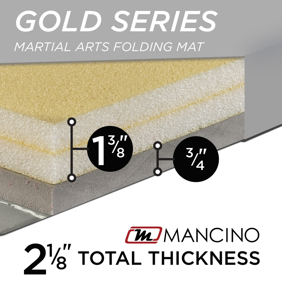martial arts folding mat by mancino