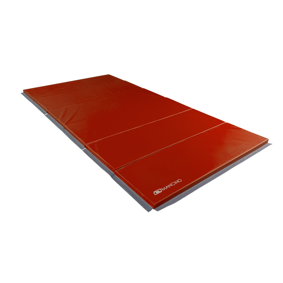 red folding gym mat