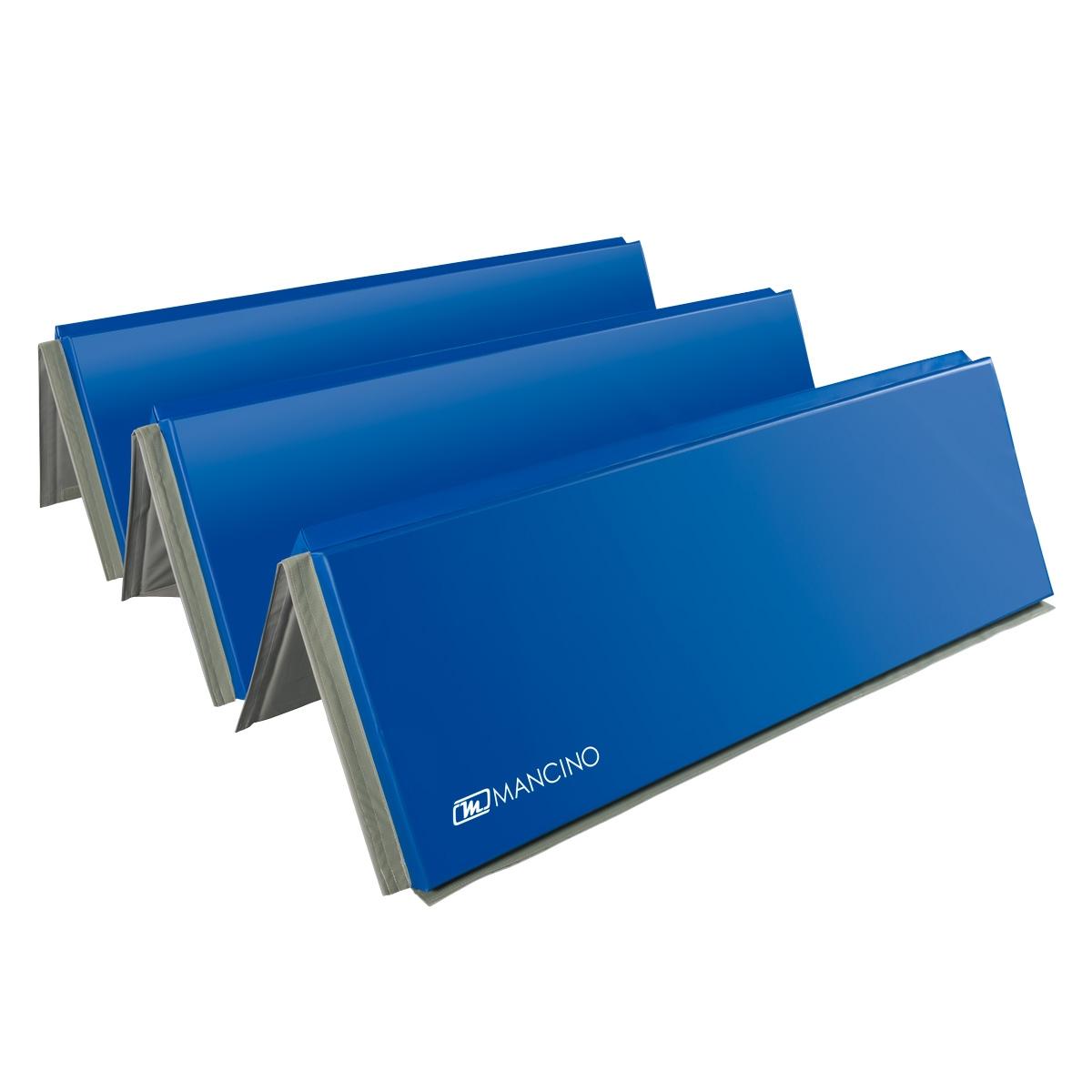 mma folding mat 6 x 12 panel mat in royal blue