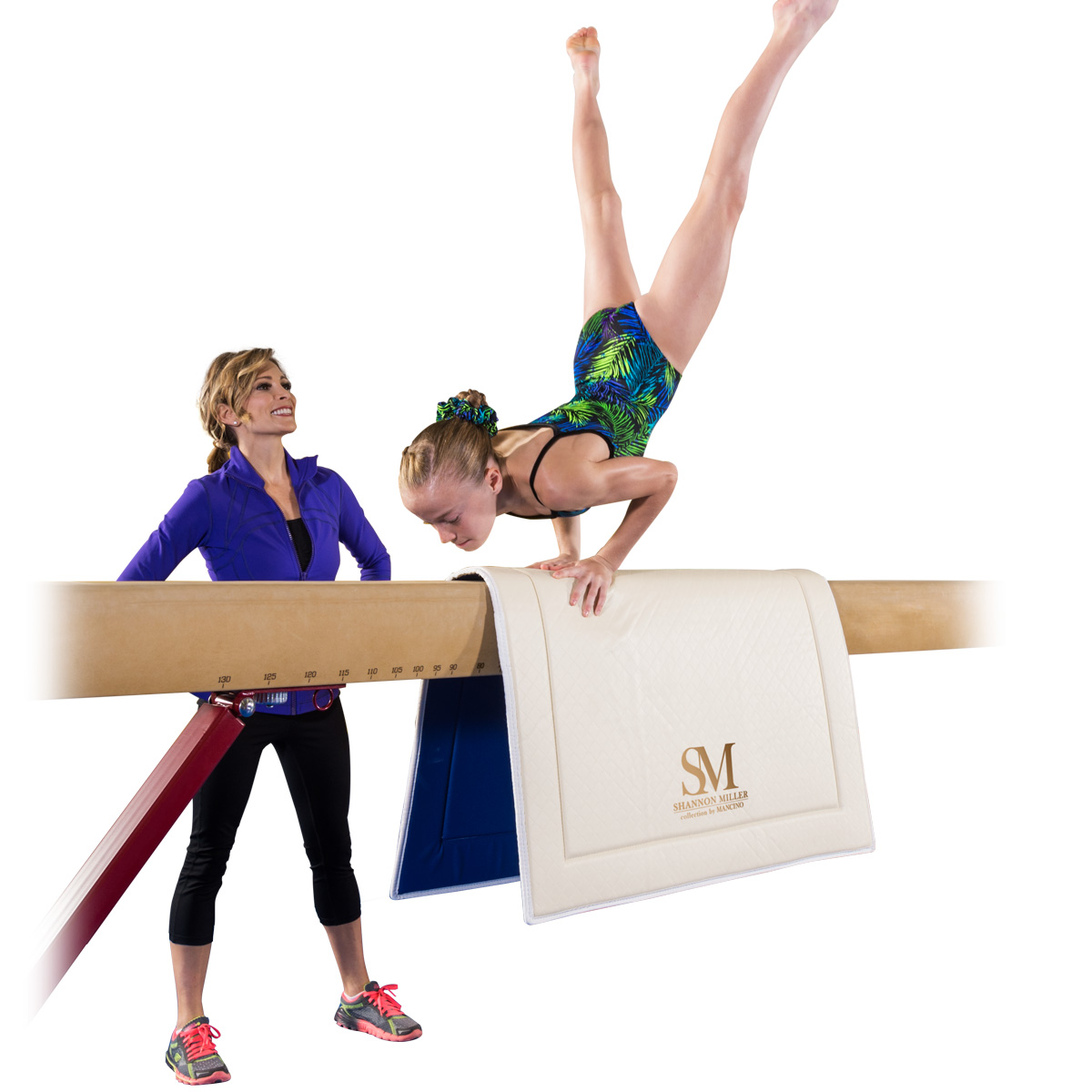 shannon miller beam throw mat