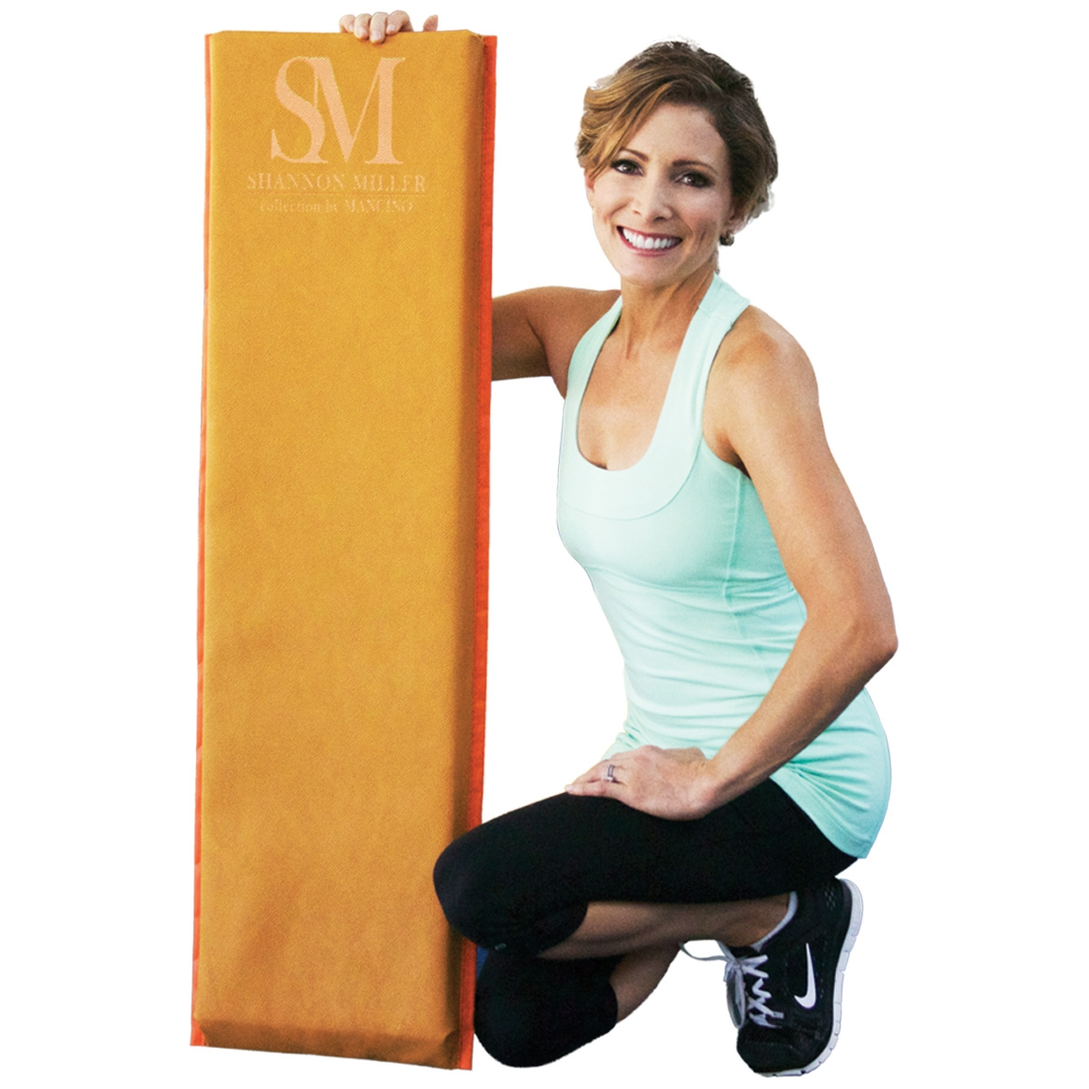 shannon with her Mancino vault round off trainer mat