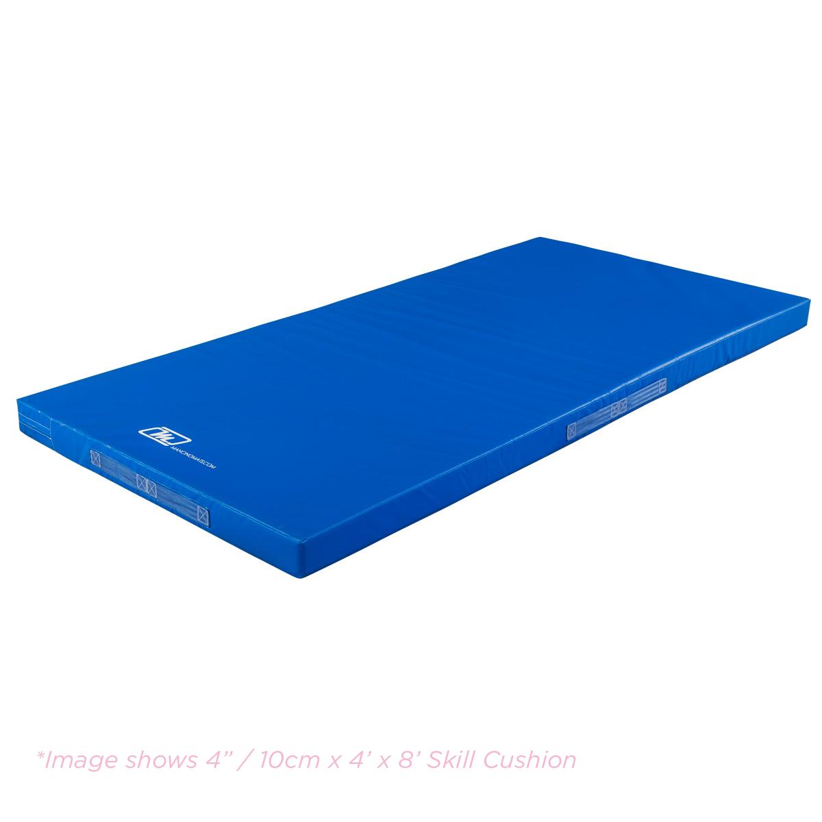 "4"" incher skill cushion landing mat in royal blue"