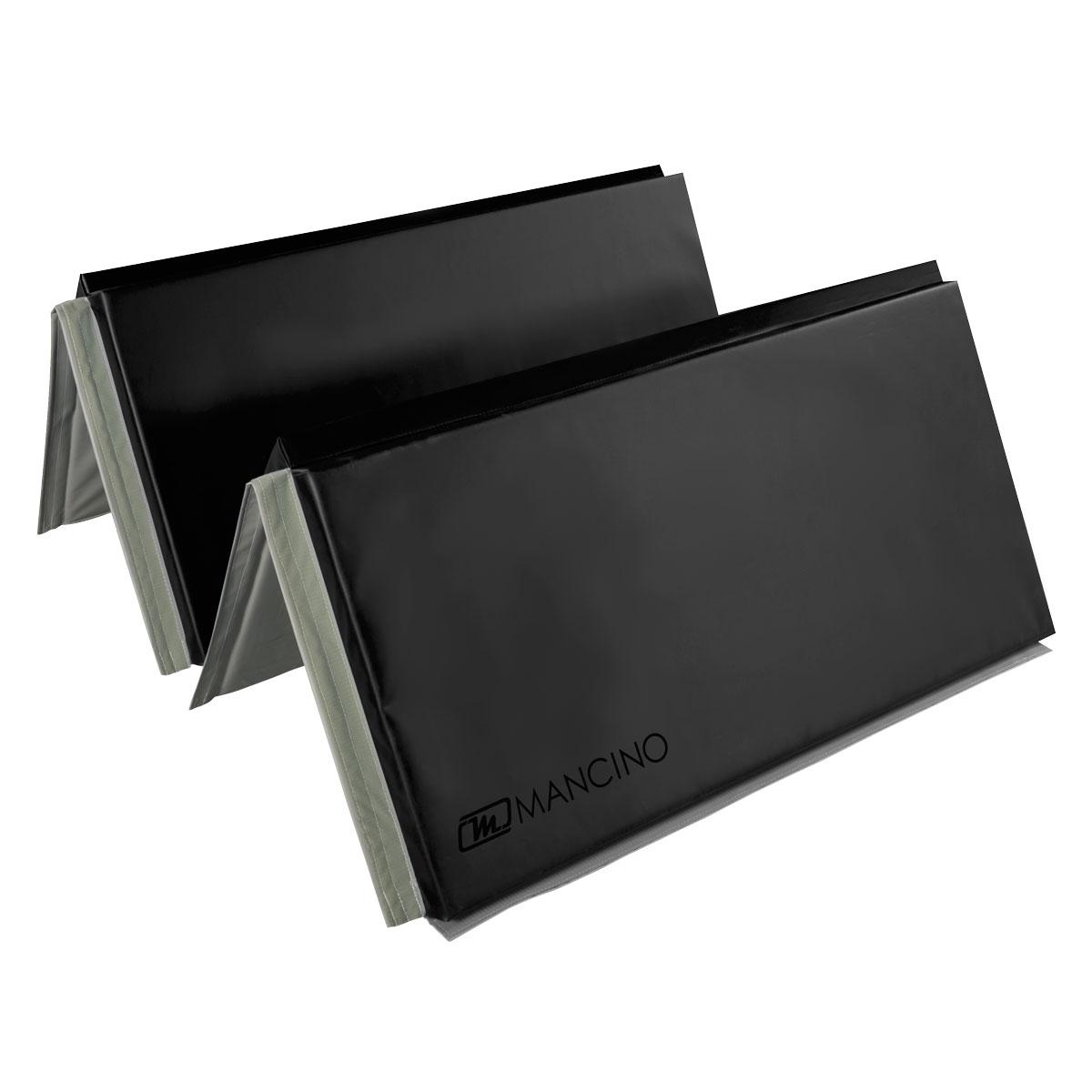 thick folding panel mat for stunts and fall work by stuntmen and stunwomen -  mancino mats