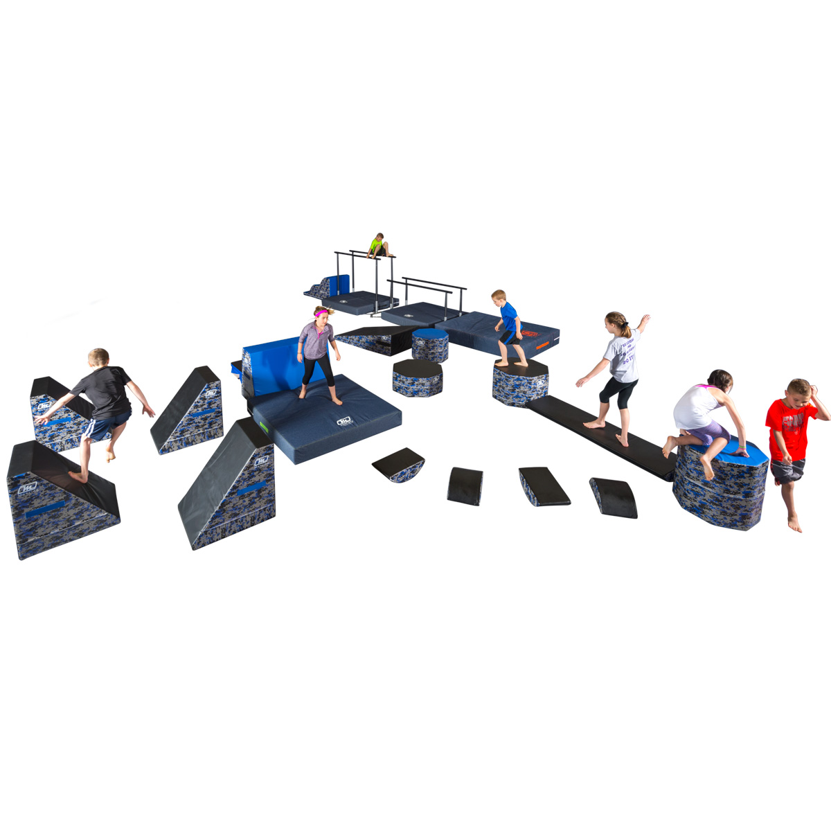 course or circuit option for ninja warrior fitness items