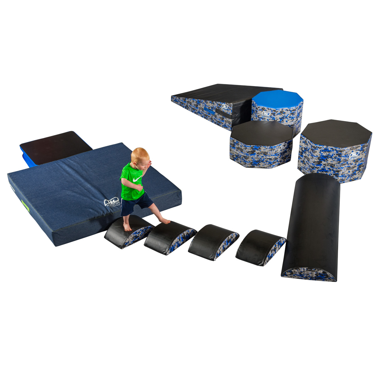 warrior fitness circuit with wedge mat