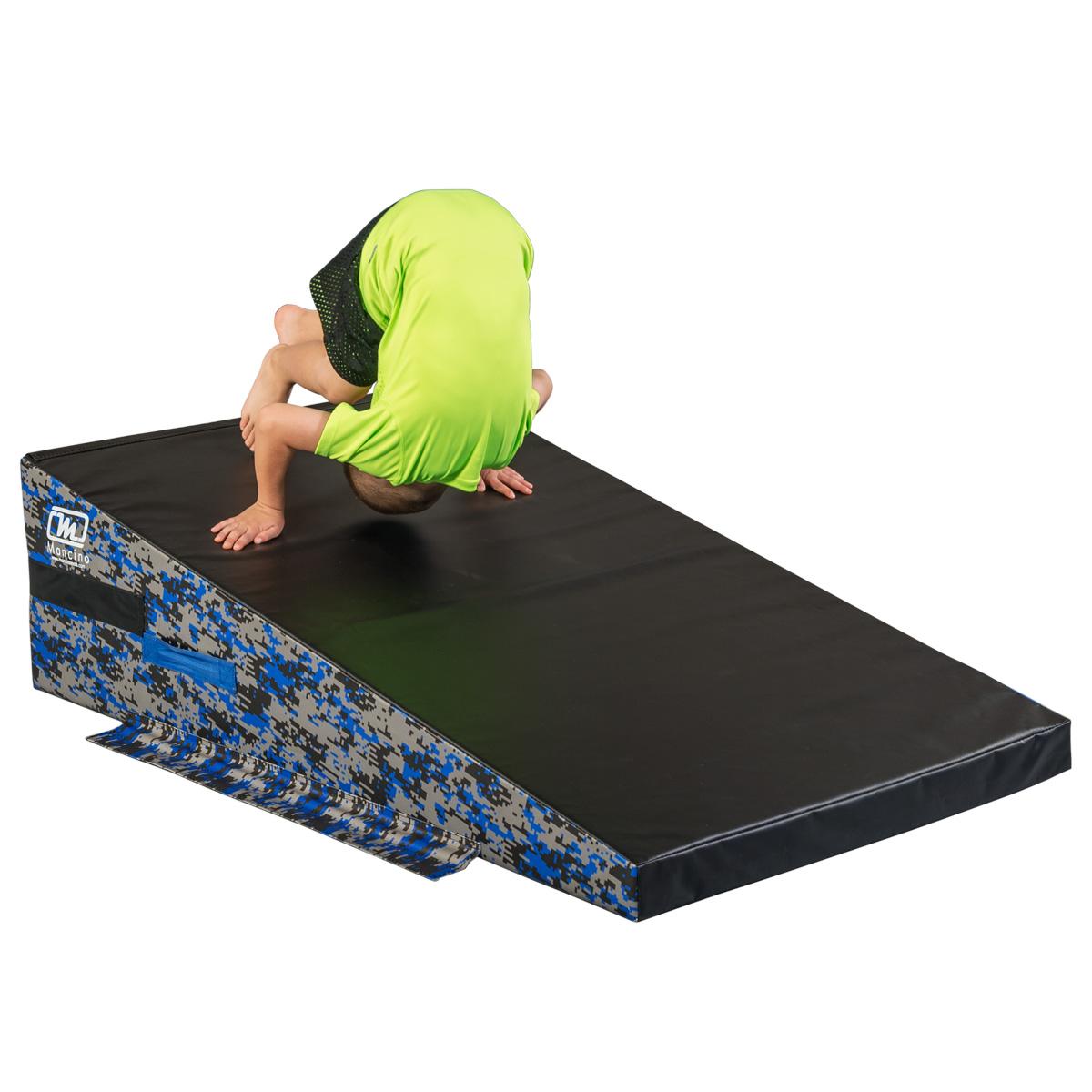 ninja warrior course incline wedge mat - Mancino Mats
