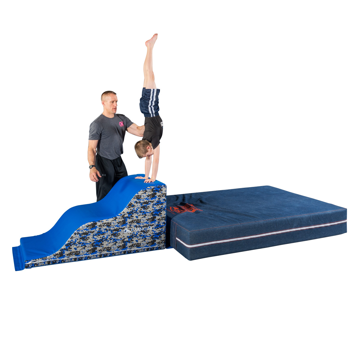 warrior fitness wavy steps and lil' fluffy mat