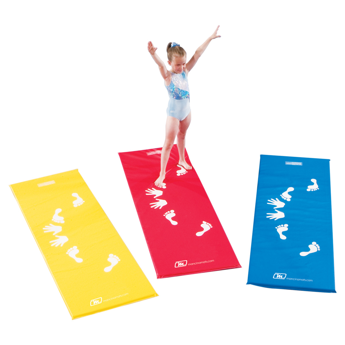 Pack of 4 cartwheel training mats
