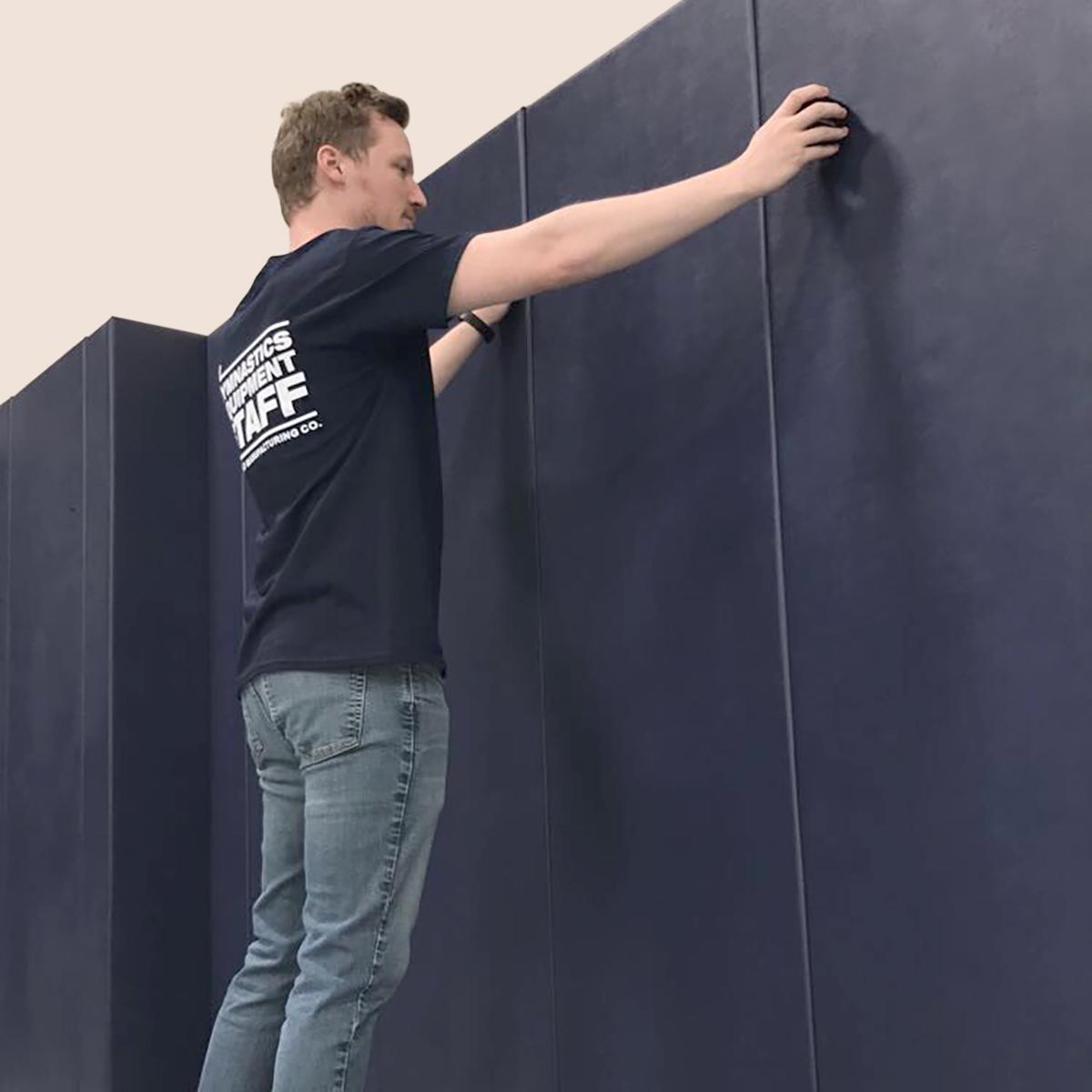 installing wall padding