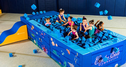 preschool gymnastics equipment