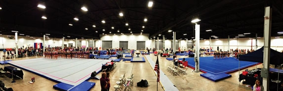liberty gymnastics meet cup 2016